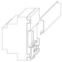 Interfata seriala RS485 - RS232 EVIF21RS
