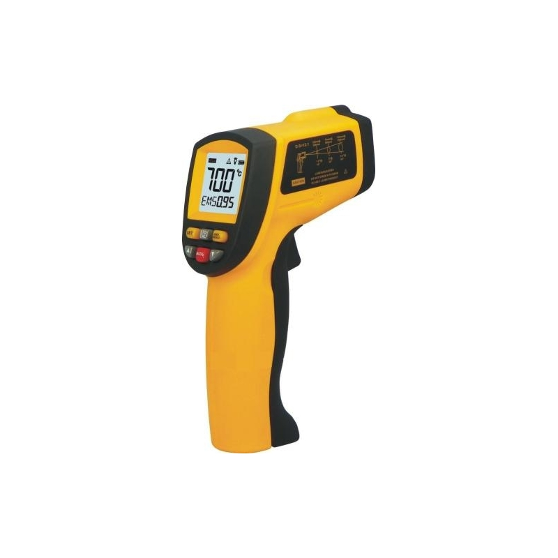 Termometru infrarosu -50 - +700 grade Celsius