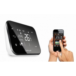 Termostat Salus IT500, programabil, wireless, controlat prin internet
